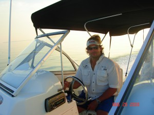 Captain Gary of Dolphin Safari Charters